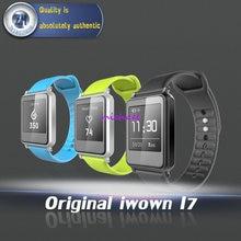 Оригинальный iwown i7 Смарт часы браслет запястье Bluetooth 4.0 Сенсорный экран фитнес трекер здоровье браслет монитор сердечного ритма