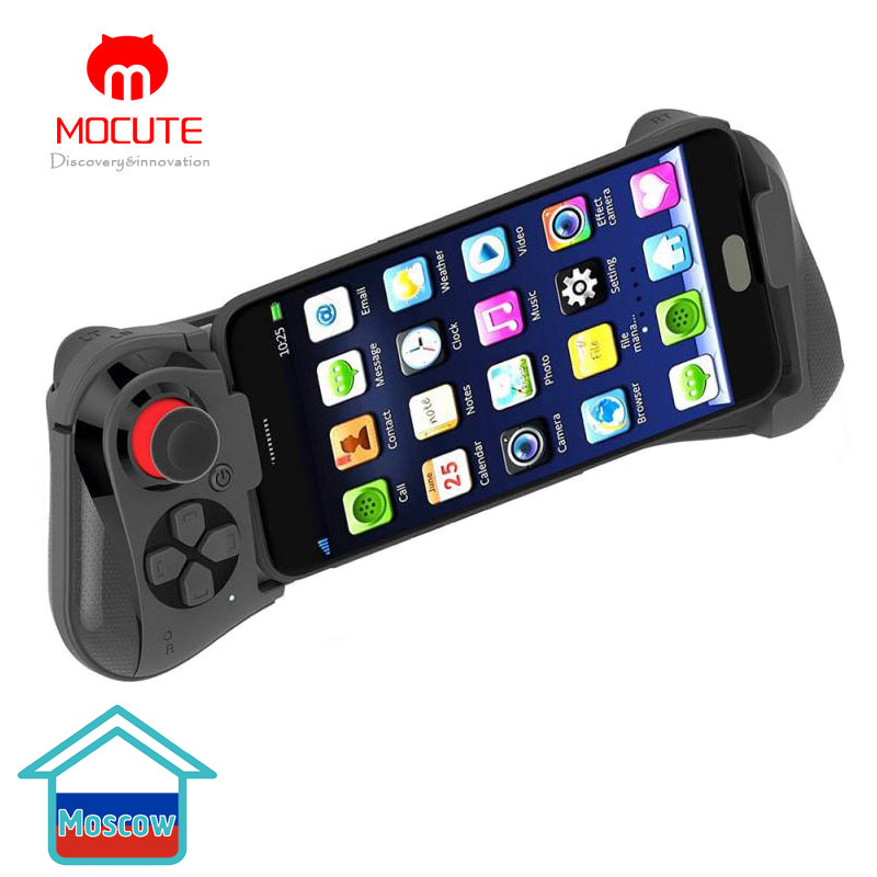 Mocute 058 Wireless Gamepad Bluetooth V3.0 Android Joystick VR Telescopic Controller Gaming Gamepad For Phone PUBG Mobile Joypad