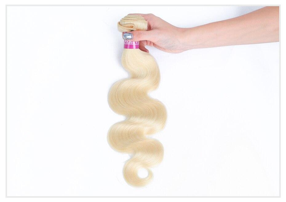 HTB1HNSRaUjrK1RkHFNRq6ySvpXaa Monstar Brazilian Hair Weave Bundle Deals 613 Honey Blonde Body Wave Remy Human Hair Bundles with Closure 13x6 Lace Frontal