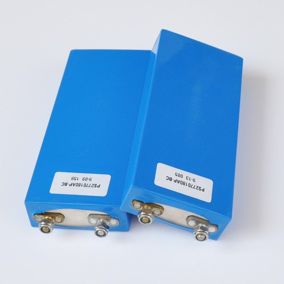 LiFePO4-batería recargable de iones de litio para bicicleta eléctrica, celda de polímero de iones de litio de 3,2 mah, 25AH, 25000 V, 12V, 24V, 36V, 48V, UPS, luz solar, 2 uds.