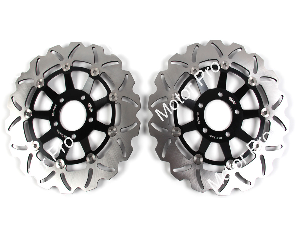 RF900 GSX1200 Front Brake Disc For Suzuki GSX INAZUMA 1200 1999 - 2003 2000 2001 2002 Brake Disk Rotor RF 900 94 1995 1996 1997 motorcycle parts 1 pair black stainless steel mechanical motorbike front rear disc brake rotor fit for suzuki gsx r 750 2000 2001 2002 2003 front l r