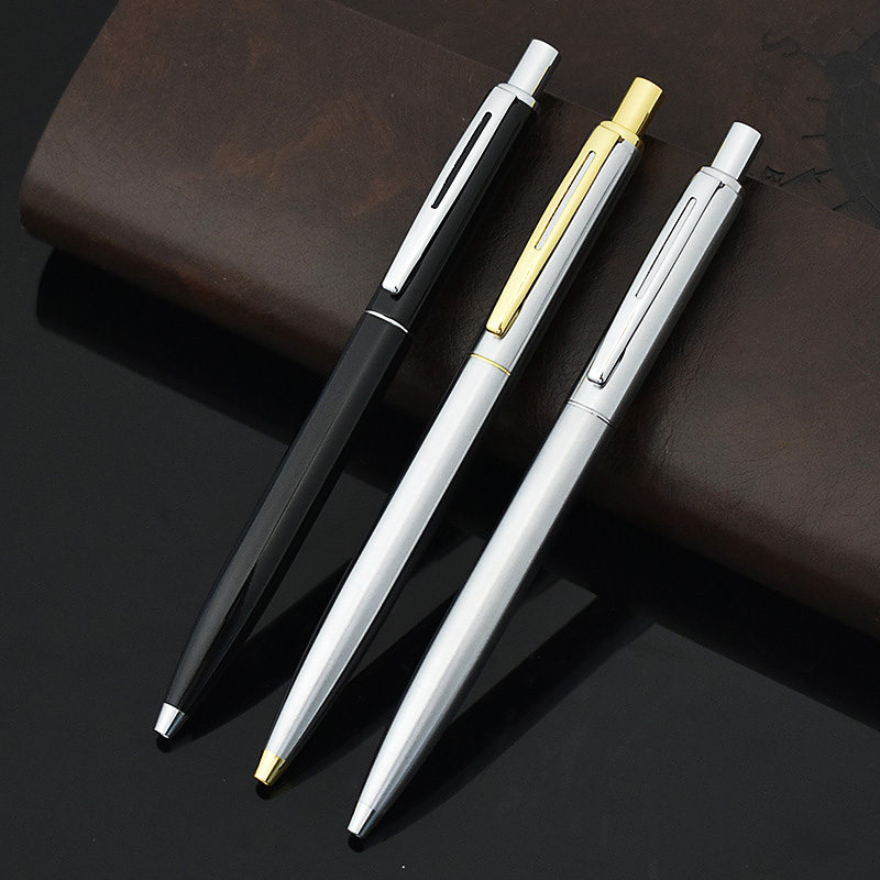 JINHAO Cute Classic Brand Metal Ball Point Pen Ballpens For Business Writing Office School Supplies Student 2651