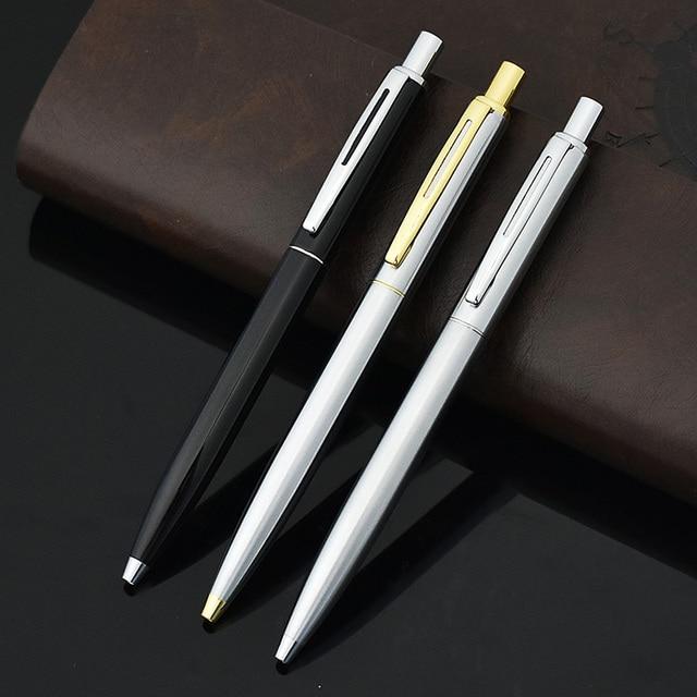JINHAO Cute Classic Brand Metal Ball Point Pen Ballpens For Business Writing Office School Supplies Student 2651