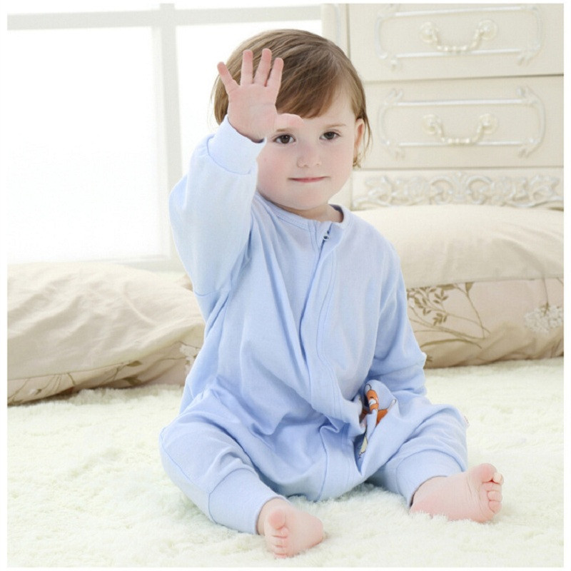 Zipper Rompers for Baby Girl and Boy in Winter Autumn  (1)