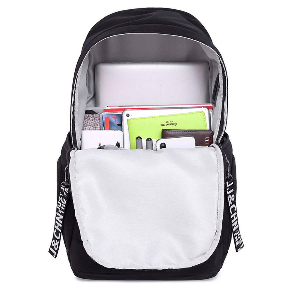 Large Capacity Backpack Travel Bag 2019 New Junior High School Student Bag USB Rechargeable in Backpacks from Luggage Bags