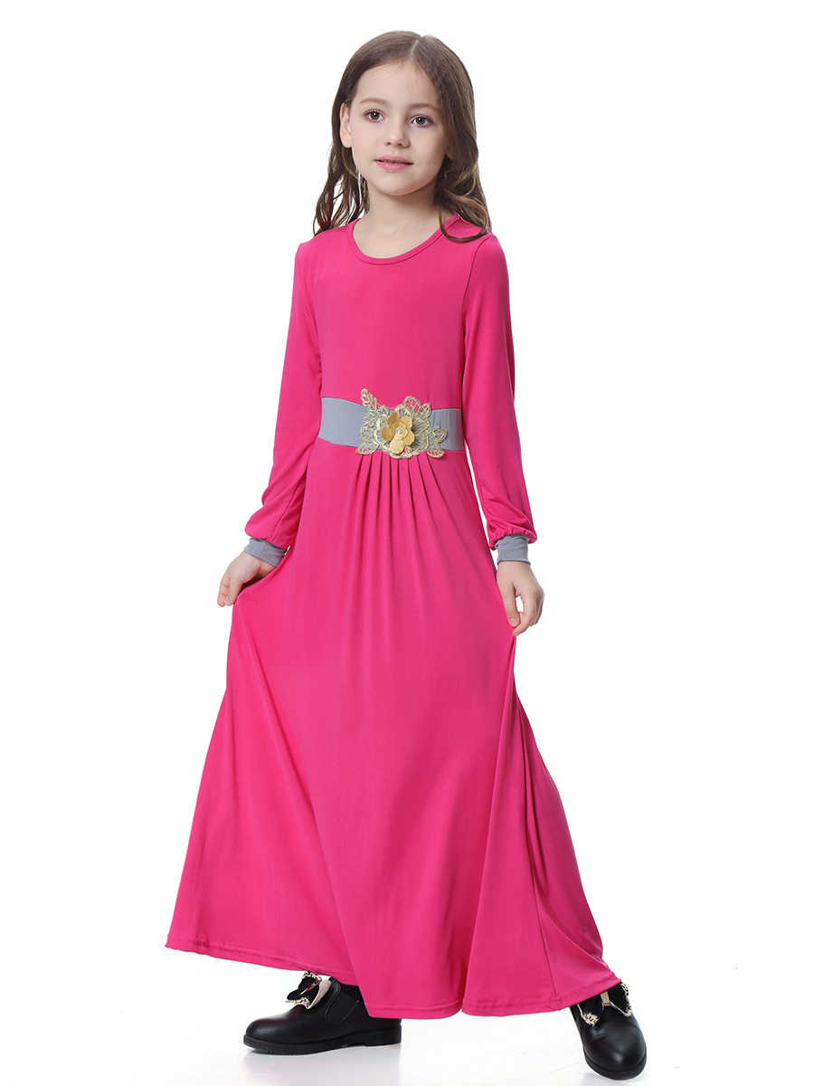 a9894daf8 Detail Feedback Questions about Fashion Muslim Children Abaya Girls ...