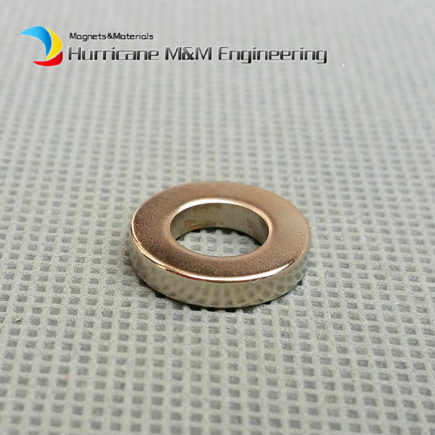 1 Pack NdFeB Magnet Ring OD 15x8x3 (+/-0.1)mm Diameter 0.59'' Strong Magnets Axially Magnetized NiCuNi Coated Rare Earth Magnet 1 pack diametrically ndfeb magnet ring diameter 9 53x3 18x3 18 mm 3 8 1 8 1 8 tube magnetized neodymium permanent magnets