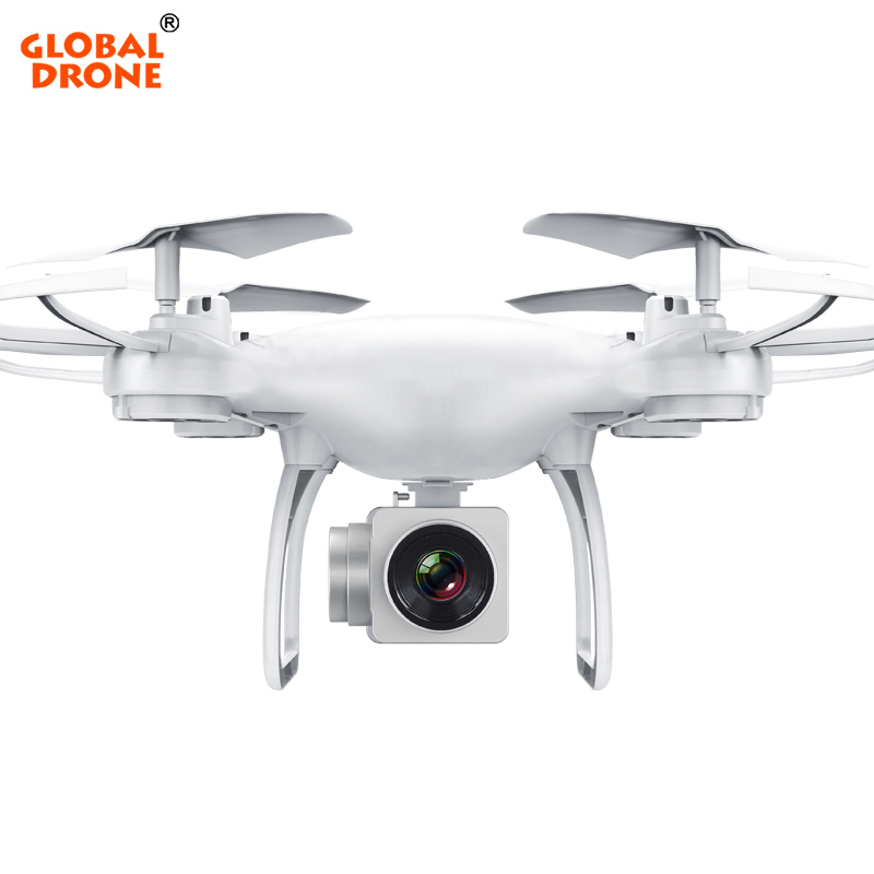 Global Drone Profissional Drone With Camera HD Altitude Hold Wifi FPV Dron Long Time Flight Quadrocopter Gravity Sensor