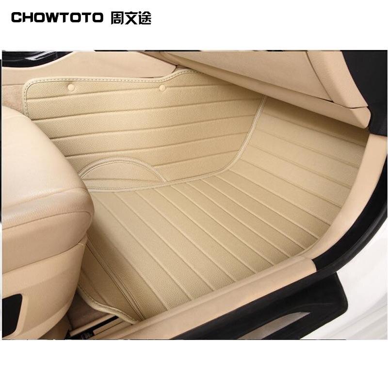 CHOWTOTO AA Special Floor Mats For Cadillac Escalade 7seats non-slip Carpets For Escalade 7seats Model