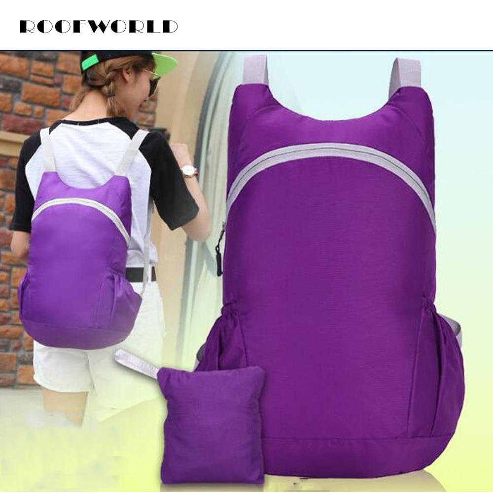 9 kleuren ultralichte opvouwbare rugzak nylon multifunctionele waterdichte rugzak schoudertas reistas voor klimmen