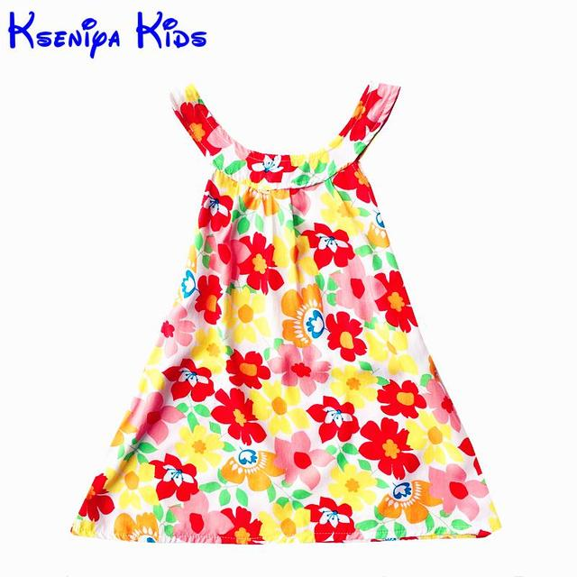 d1f998b9707e Children s Clothing For Girls Summer Dresses Fashion Style Cotton ...