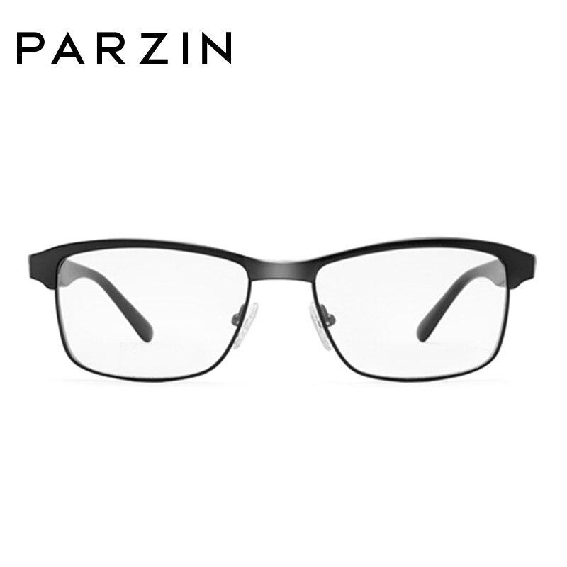 Parzin Tr 90 lunettes cadres hommes femmes myopie lunettes cadre Vintage lunettes cadre optique clair lentille lecture lunettes 5052