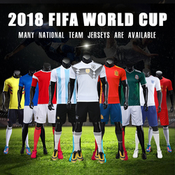 63e936a47 Soccer Sets 2018 Russia World Cup Soccer Jersey Brazil National Team Jersey  Germany Football Jersey Argentina Spain Italy Jersey