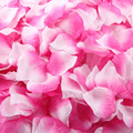 Top Grand 1000 PCs Gifts Silk Rose Petals Artificial Flower Wedding Decoration Favor Bridal Shower Aisle Vase Decor Confetti