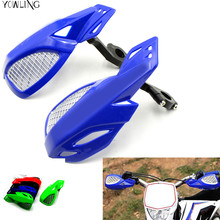 """motorcycle brush bar hand guards handguard motorbike parts handle guards 7/8"""" 22mm for Yamaha YZ80/85 YZ 125 250 mt09 WR250F"""