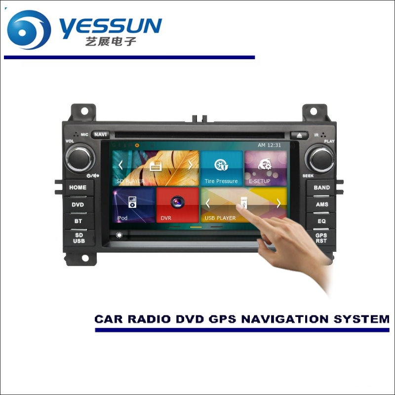 YESSUN For Jeep Grand Cherokee 2011~2013 Car Radio CD DVD Player HD TV Screen GPS Map Nav Navi Navigation Audio Video System