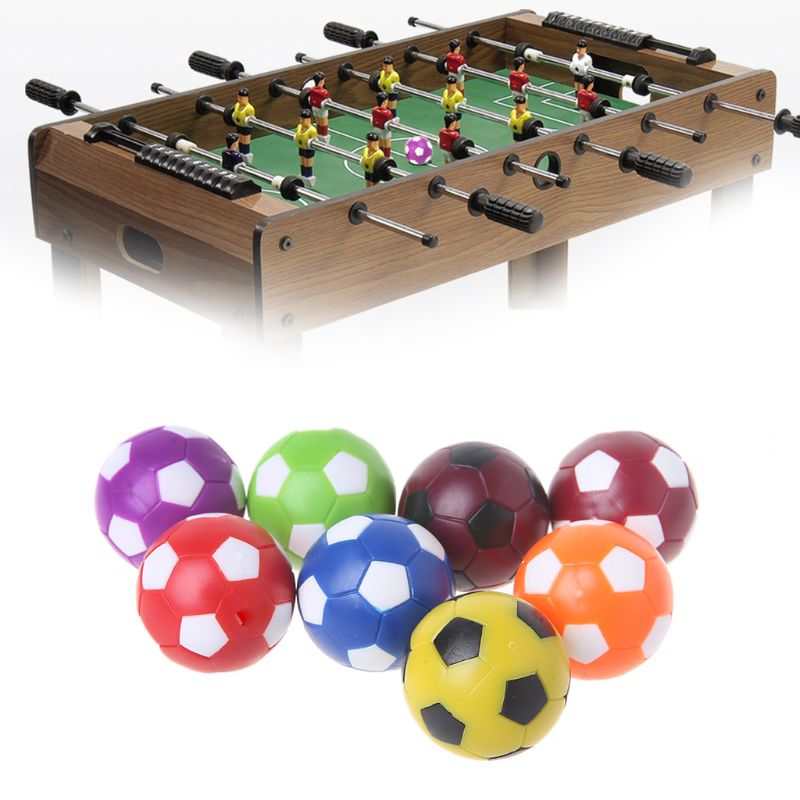 2pcs 36mm Table Soccer Ball Fussball Indoor Game Foosball Football Machine Parts