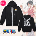 One Piece Luffy unisex Coat mens hoodies and sweatshirts Cosplay Costume boys clothes girls clothing Outwear Cartoon Tops