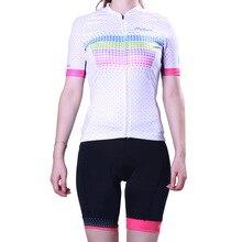 2017 Women's Summer Snowflake Pattern Cycling Sets Short Sleeve Cycling Jersey MTB Bike/Bicycle Wear Anti-sweat Cycling Clothing