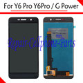 Black 100% New Full LCD DIsplay + Touch Screen Digitizer Assembly Replacement For Huawei Y6 Pro Y6Pro / G Power Free Shipping