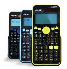 For D82ES Handheld Multi-function Display Digital LCD 2-Line Scientific Calculator