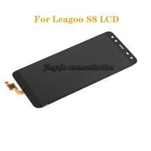 Nueva pantalla LCD para LEAGOO S8 LCD monitor táctil componente digitalizador montaje para leagoo s 8 piezas de reparación
