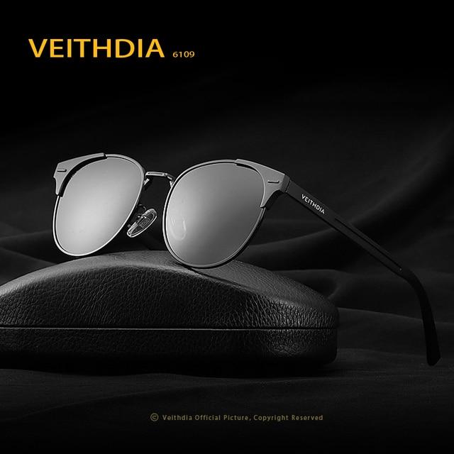 VEITHDIA 2017 New Unisex Retro Aluminum Brand Sunglasses Polarized Lens Vintage Eyewear Accessories Sun Glasses For Men Women