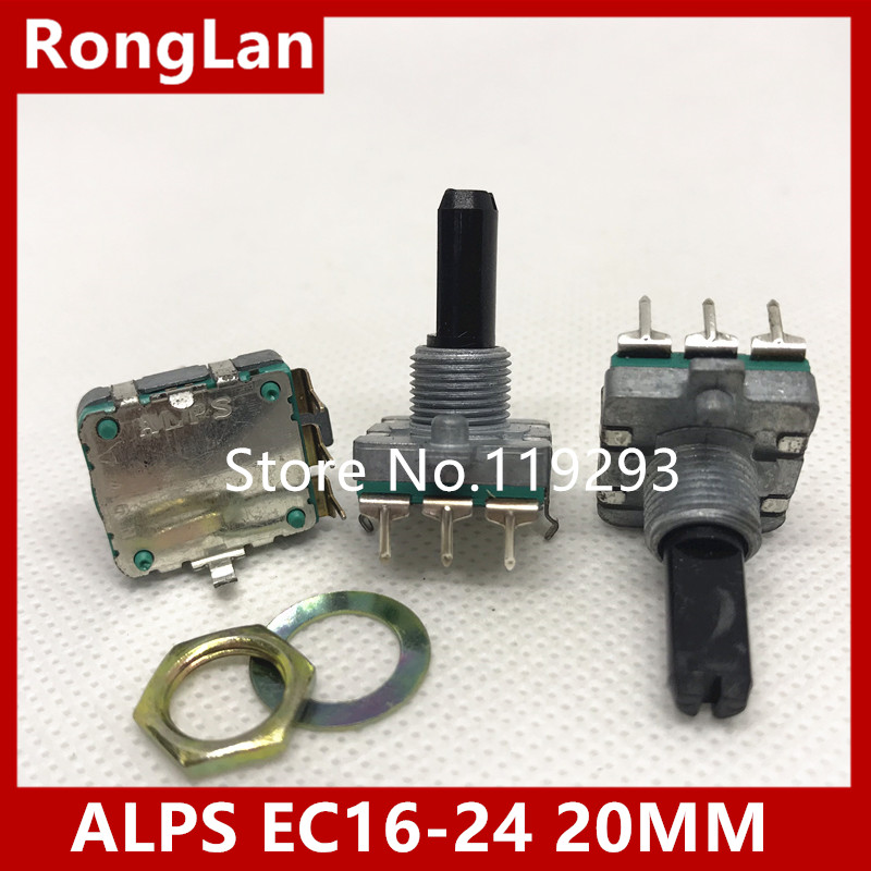 10pcs Ec11 Half Axis Half Side 15 Mm 20 Mm Digital Potentiometer Rotating Encoder 20 Bit Pulse Band Switch At Any Cost Computer & Office