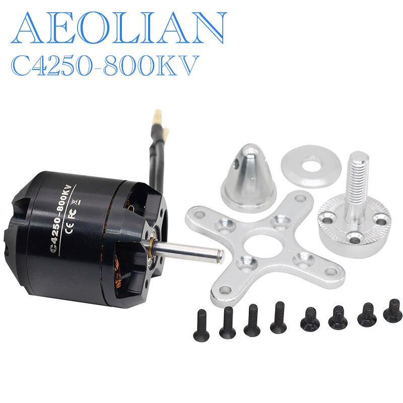 Envío gratis Nueva Aeolian 4250 800kv outrunner motor eléctrico motor DEL aeroplano del RC