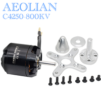 Free shipping New Aeolian 4250 800kv outrunner brushless electric motor RC airplane glider motor