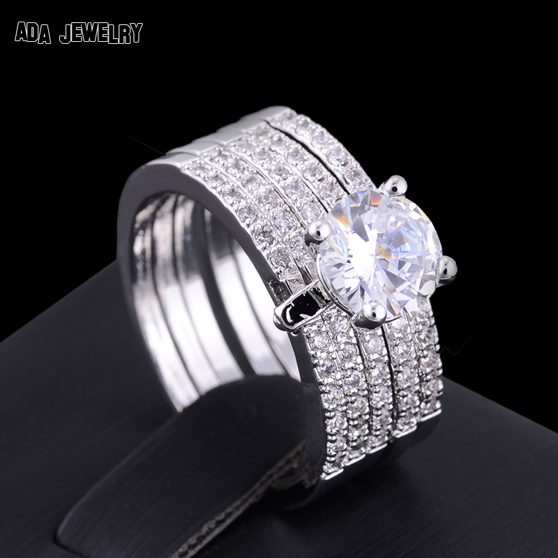 Wide Band Wedding Ring Sets : Katinabags.com