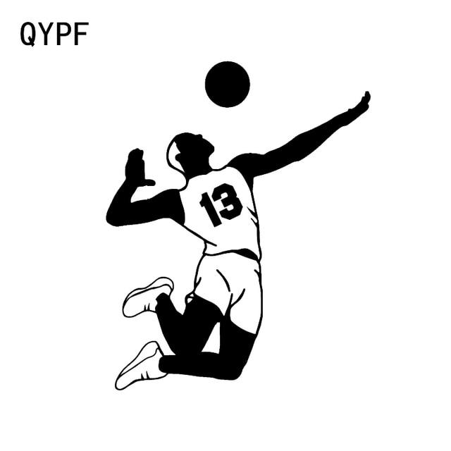 Qypf 13161 Cm Menarik Pemain Bola Voli Jersey Nomor 13 Dekorasi