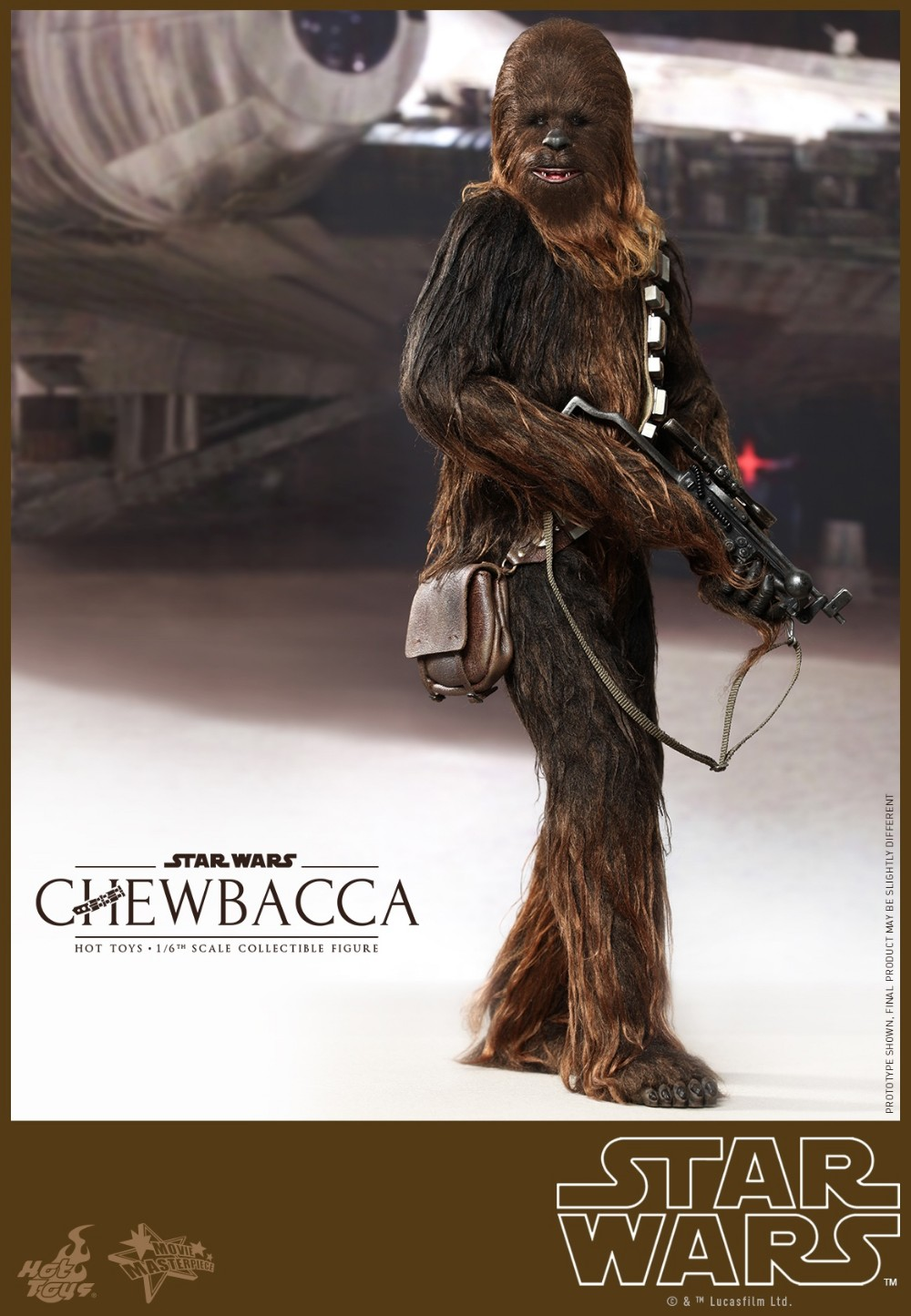 Hot Toys MMS262 Star Wars Episode IV A New Hope Chewbacca 1//6 headset