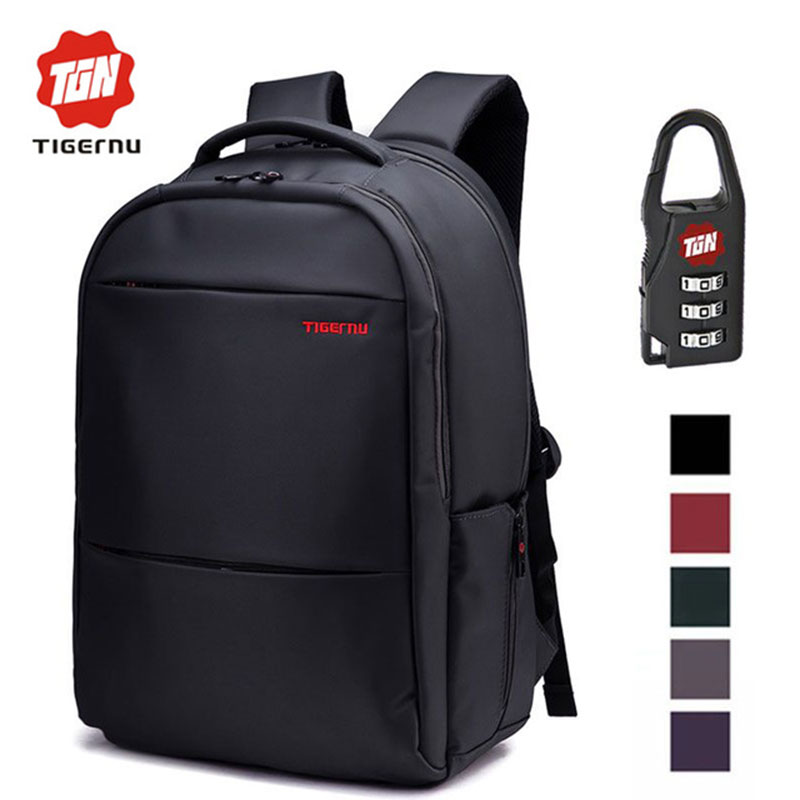 Tigernu Unique Waterproof Nylon 17 Inch font b Laptop b font School Backpack Men Women Computer
