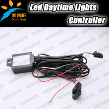 LED Luz Corriente Diurna (DRL) Control Automático On/Off Interruptor de Faro Arnés Relay Controlador de Luz Lateral