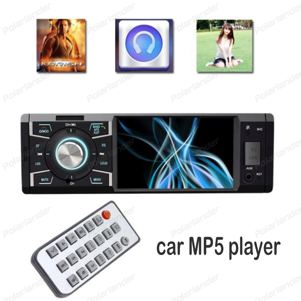 4 inch Car Radio Stereo MP5 Player hands-free calls Bluetooth Phone AUX-IN FM/USB Remote Control 12V car Audio 2015 new support rear camera car stereo mp3 mp4 player 12v car audio video mp5 bluetooth hands free usb tft mmc remote control