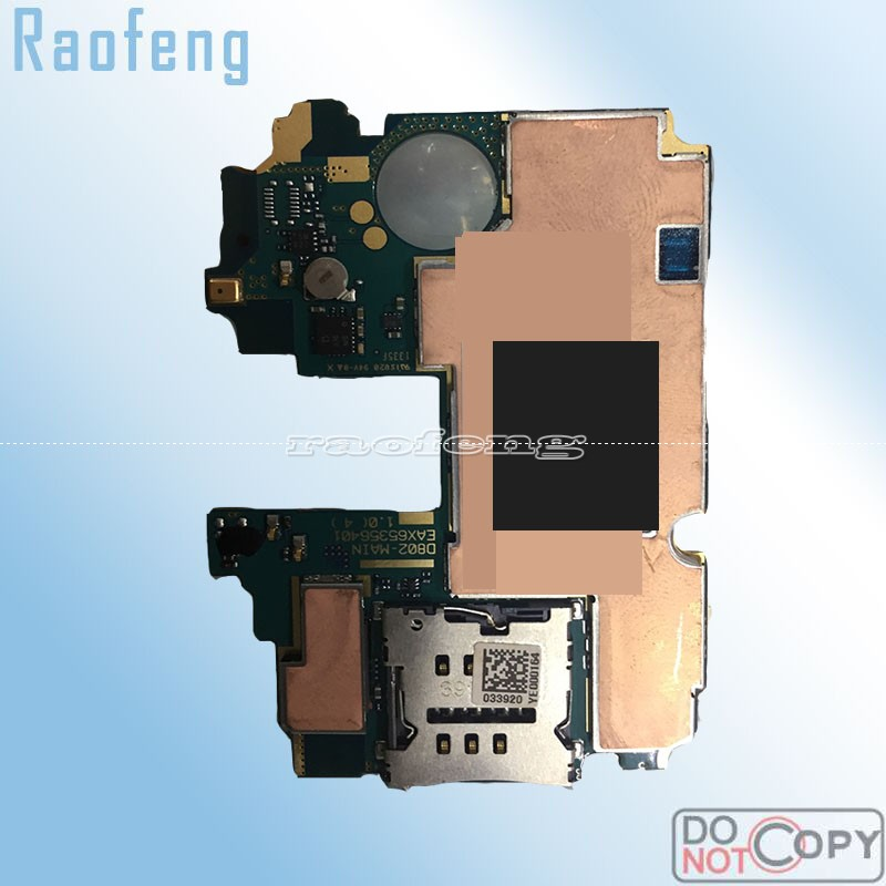 Raofeng Motherboard For LG G2 D802 D800 D801 VS980 F320 Unlocked Mobile Phone Hold