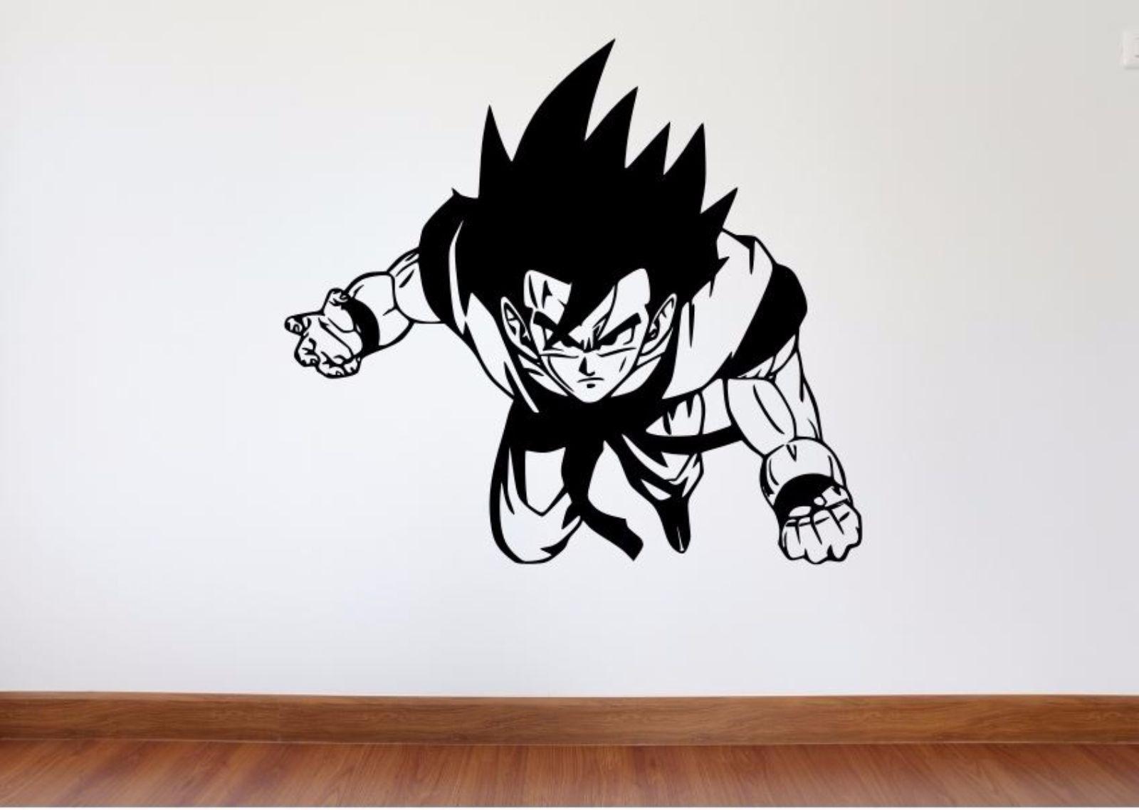 Online Get Cheap Dragon Ball Wall Decal Aliexpresscom Alibaba - Dragon ball z wall decals