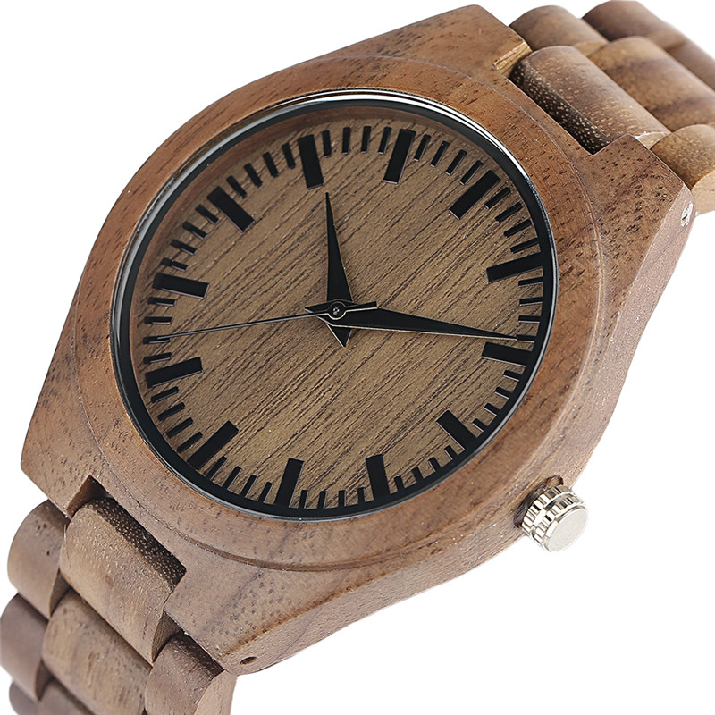 Nature Wood Men Watches Sport Fashion Quartz Watch Handmade Bamboo Woman's Man's Bangle Novelty Wristwatches Christmas Gifts fashion men bamboo wood quartz analog watch with genuine leather for men nature zebra stripe unique watch relogio clock gifts