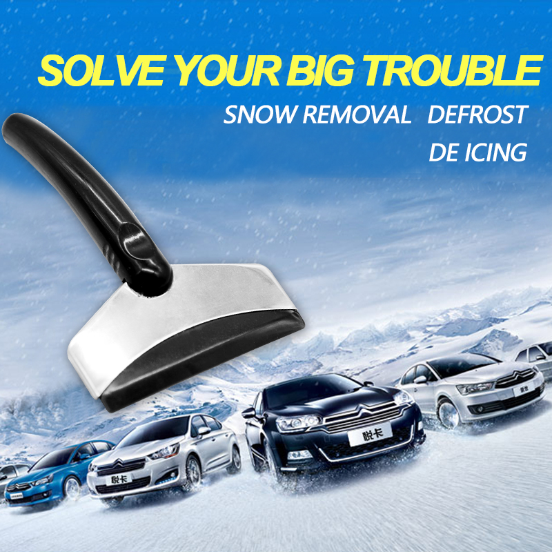 Image 4 - Ice Scraper Car Auto Tool Scraper Auto Parts Car Winter Shoveling Snow Tool Ice Shovel Car Snow Removal Tool Snow Shovel-in Ice Scraper from Automobiles & Motorcycles