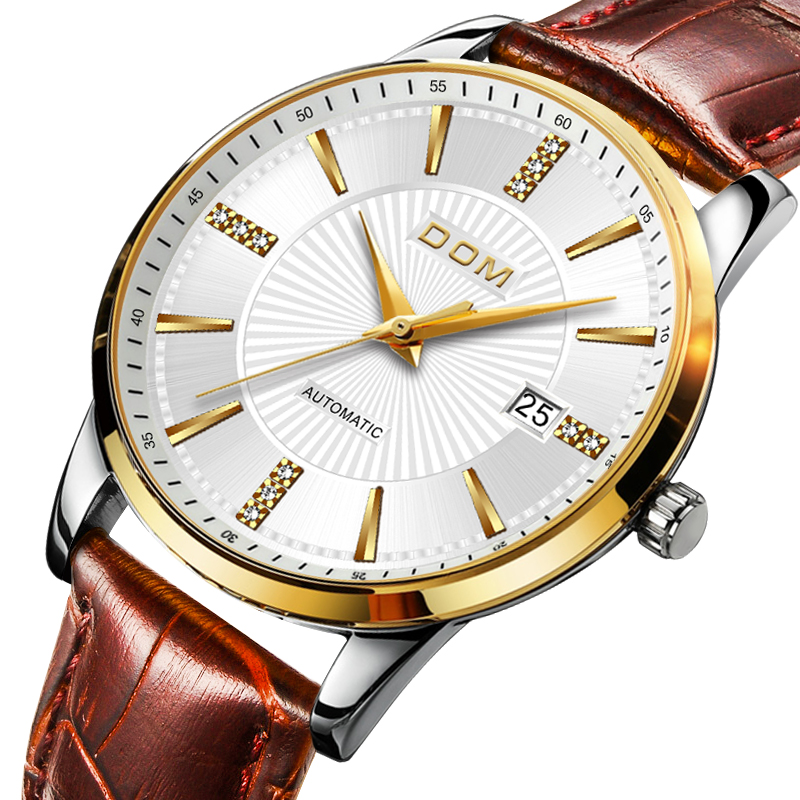 2018 Relojes DOM Męski Automatyczny Mechaniczny Zegarek Sportowy - Męskie zegarki - Zdjęcie 2