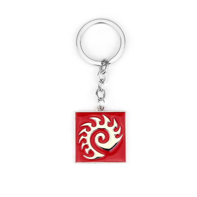 High Quality Blizzard StarCraft II 2 ZERG key chains