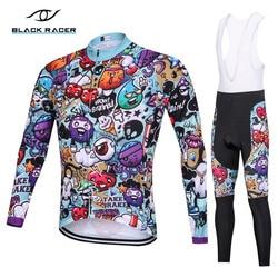 2018 Long sleeve Pro Cycling Jersey set/ Bike uniform Cycling wear Cycle shirt Ropa ciclismo MTB Cycling Clothing quick-drying