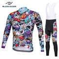 2018 manga longa pro conjunto de camisa de ciclismo/uniforme de bicicleta ciclismo wear ciclo camisa ropa ciclismo mtb roupas de secagem rápida