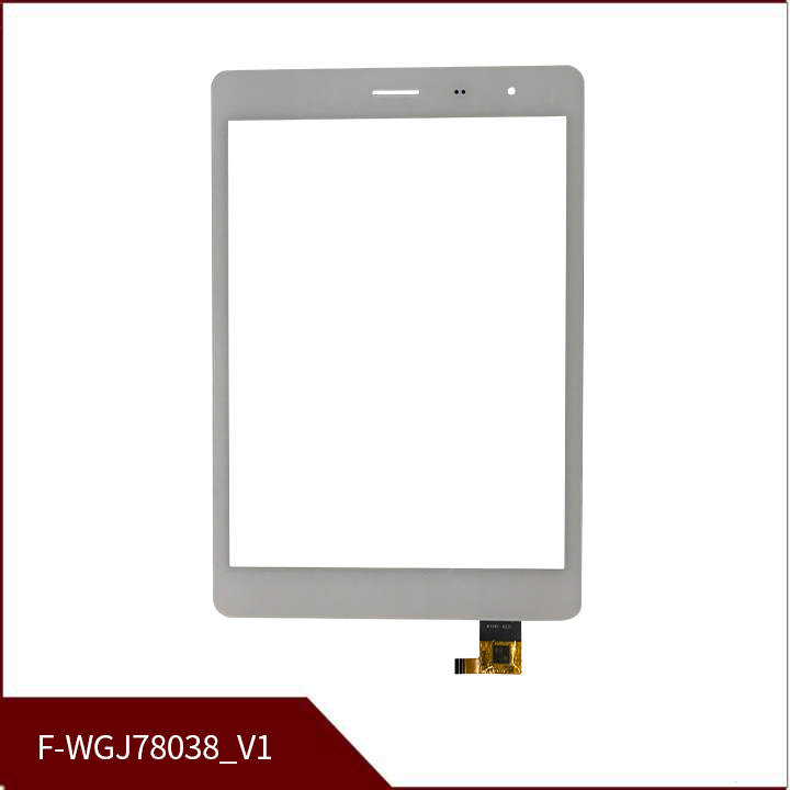 New 7.85 Inch F-WGJ78038_V1 White Touch Screen Tablet Digitizer Sensor Replacement Free Shipping