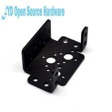 Multi-função suporte do leme suporte biped robô suporte conexão quadro ptz suporte mg995 996 ds3115