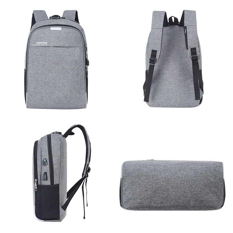 Laamei 2019 ноутбук рюкзак с usb-портом школьная сумка Защита от кражи Для мужчин за 16 дюймов рюкзаку, дорожные сумки мужские досуг рюкзак Mochila