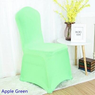 Couleur Vert Pomme Tendue Pour La Dcoration De Mariage Banquet Partie Lycra Couverture Chaise Salel Manger Chaises Universel