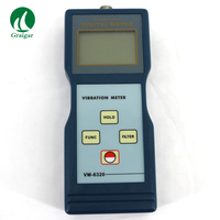 Vibrtion Meter VM 6320 Used For Measuring Periodic Motion To Check The Imbalance And Deflecting Of