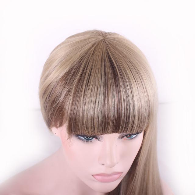 Blonde Long Straight Hair